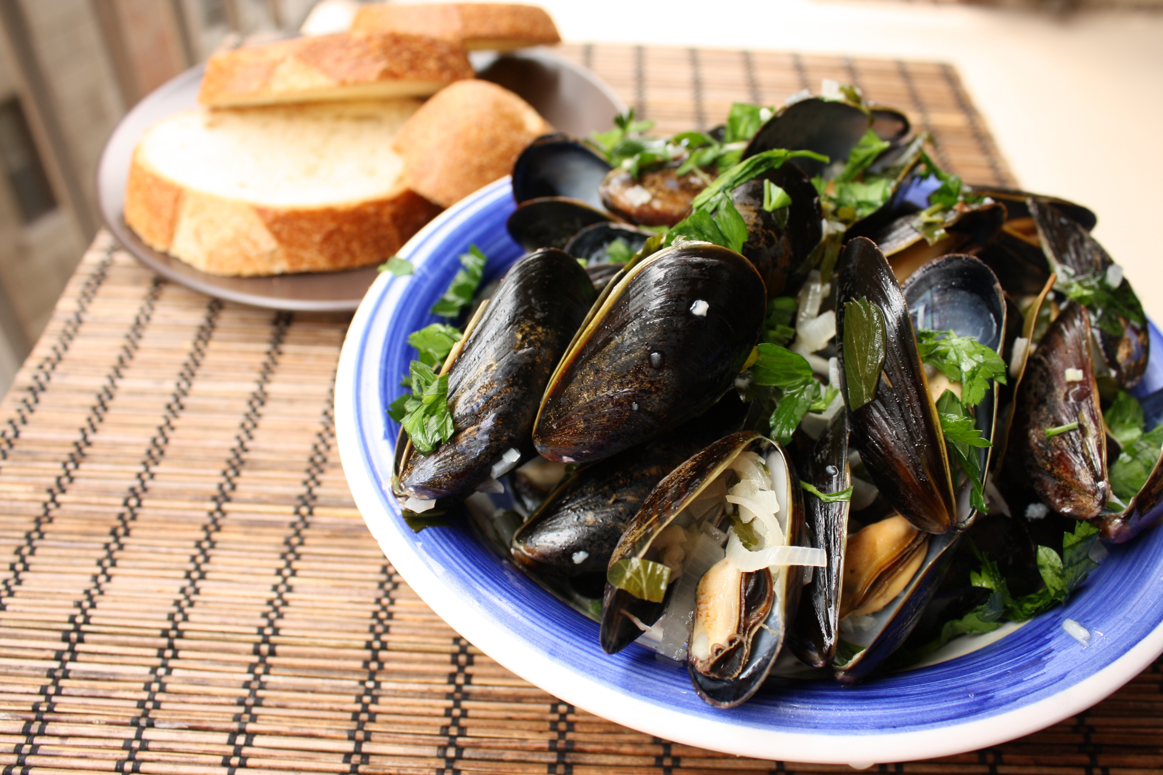 Mussels in White Wine Sauce Recipe {Gluten Free, Dairy Free}